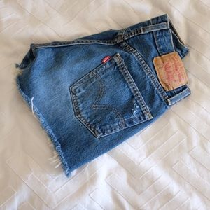 Cutoff Levi's Shorts